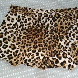 Cheetah Skort